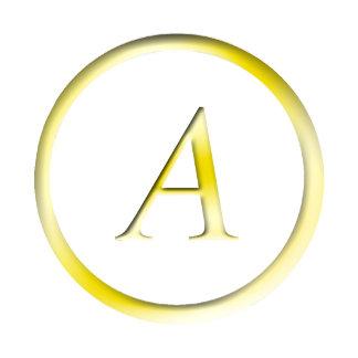 Gold Initials Monogram