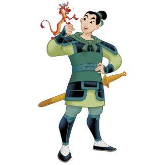 Mulan and Mushu dragon