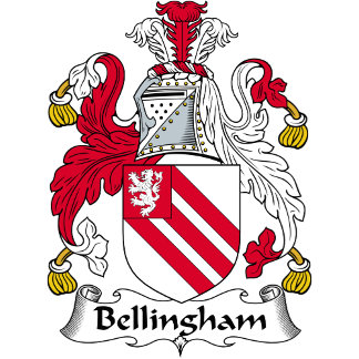 Bellingham Family Crest / Coat of Arms