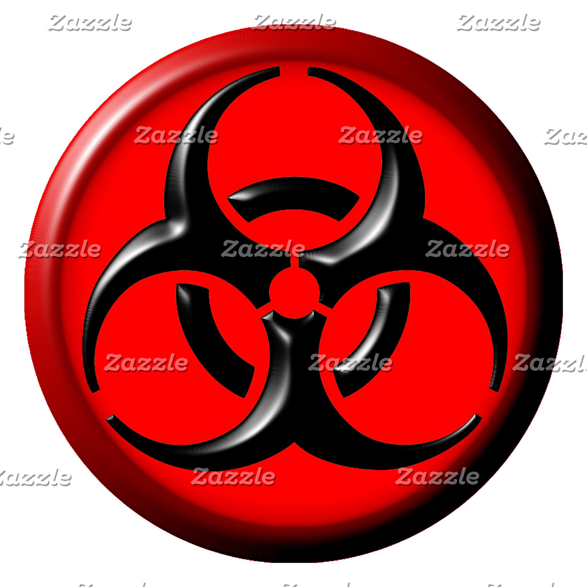 BioHazard Toxic Red