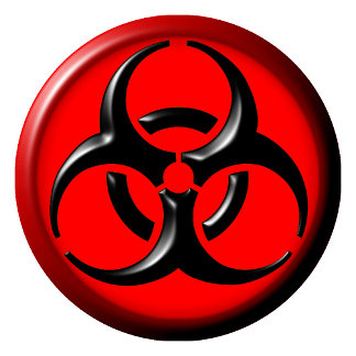 BioHazard Toxic Red