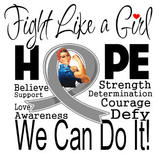 Brain Tumor Fight We Can Do It