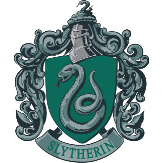 Slytherin Crest Green