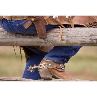 USA, Oregon, Seneca, Ponderosa Ranch. Cowboy