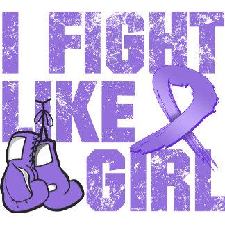 Hodgkins Lymphoma I Fight Like A Girl (Grunge)