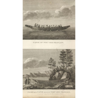 Canoe and Frame of a Canoe