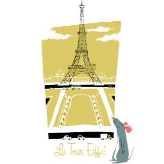 "Ratatouille ""La Tour Eiffel"" Eiffel Tower vitage"