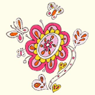 Bright Butterfly Flower