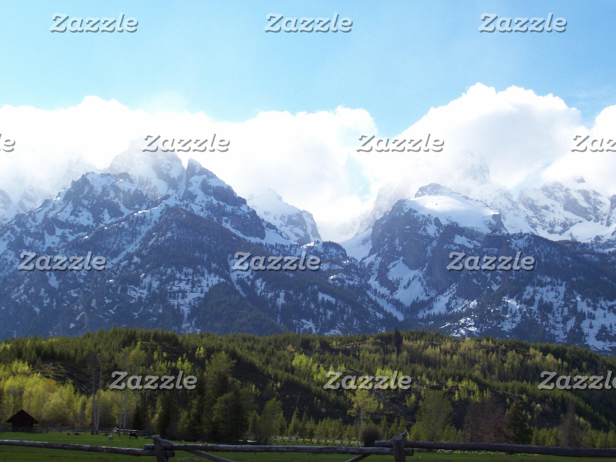 Spring Storm, Grand Tetons