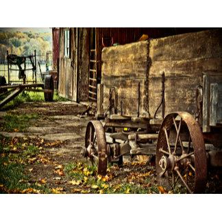 Old Amish Wagon