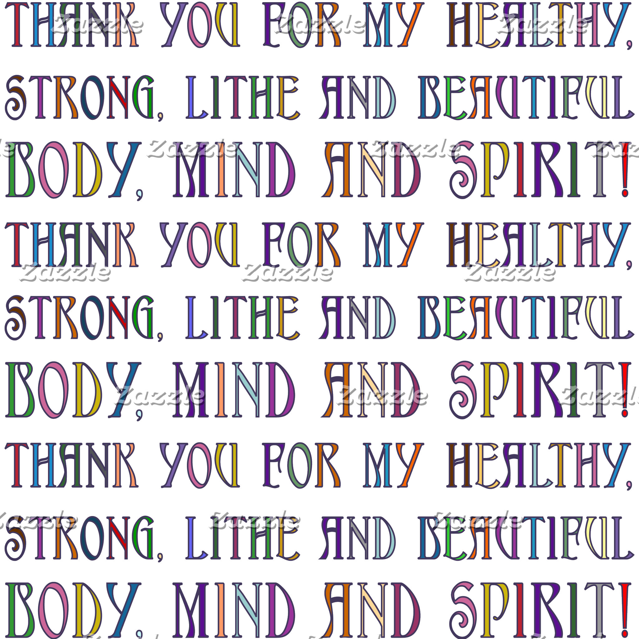 Body, Mind & Spirit!