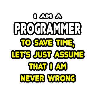Funny Programmer T-Shirts and Gifts