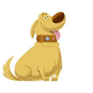 Dug the Dog from the UP Movie - concept art