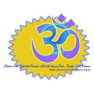 Paramahansa Yogananda Quote w/Om Symbol