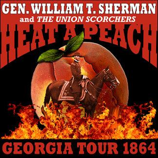 Gen. Sherman's Heat a PeachTour