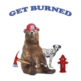 Fireman Get Burned