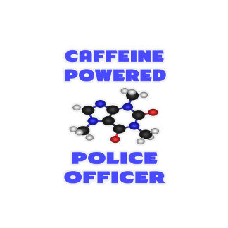 Caffeine Powered Police Officer