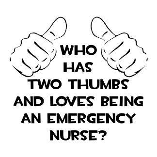 Two Thumbs .. Emergency Nurse