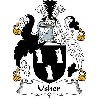 Usher Family Crest