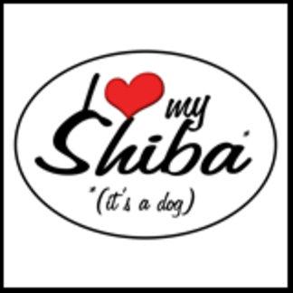 I Love My Shiba (It's a Dog)