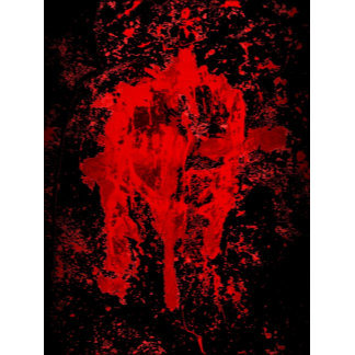 Bloody Gothic Pagan Celtic Cross