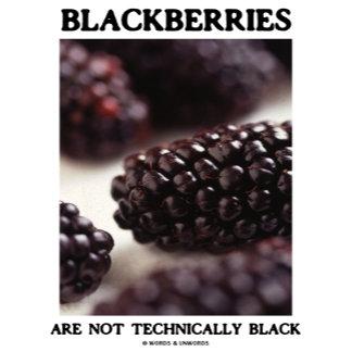 Blackberries Are Not Technically Black