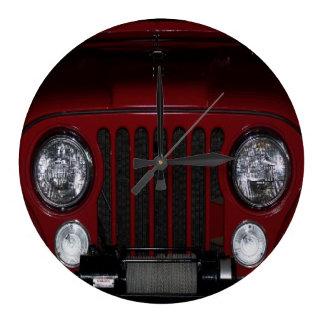 Vintage Red Jeep