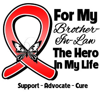 Red Ribbon For My Hero My Brother-in-Law