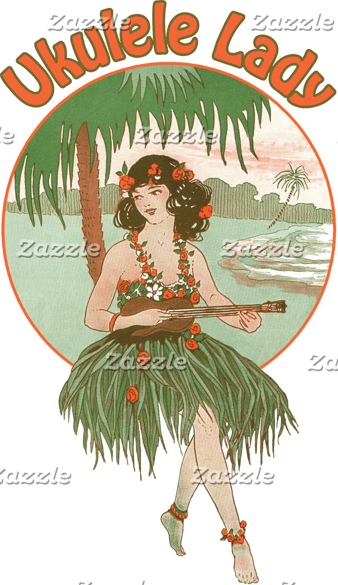 Ukulele Lady #1