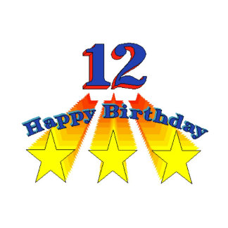 Happy Birthday 12-year-old