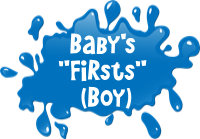 Baby's 1sts (BOY) T-Shirts, Gifts, and Clothing