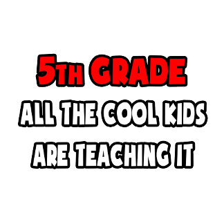 Funny 5th Grade Teacher Shirts and Gifts