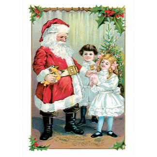 Christmas Greetings ~ Santa Claus -2