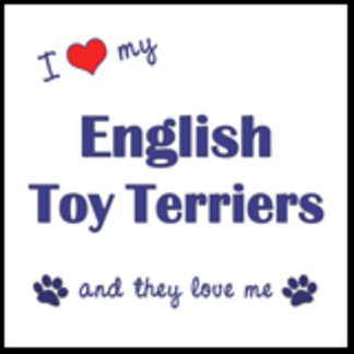 I Love My English Toy Terriers (Multiple Dogs)