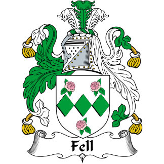 Fell Family Crest / Coat of Arms