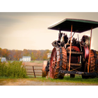 Amish Steam Tractor