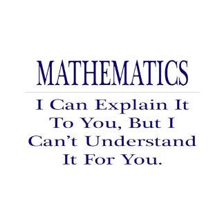 Mathematician Joke .. Explain Not Understand