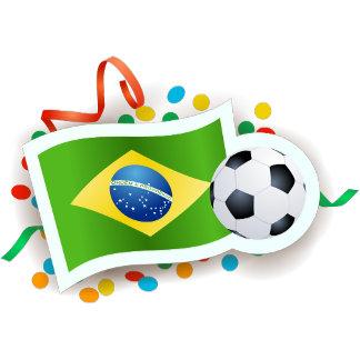 Brazil, soccer and flag