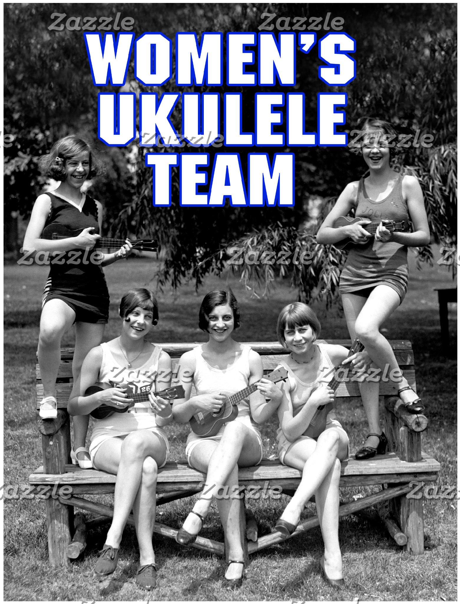 Women's Ukulele Team