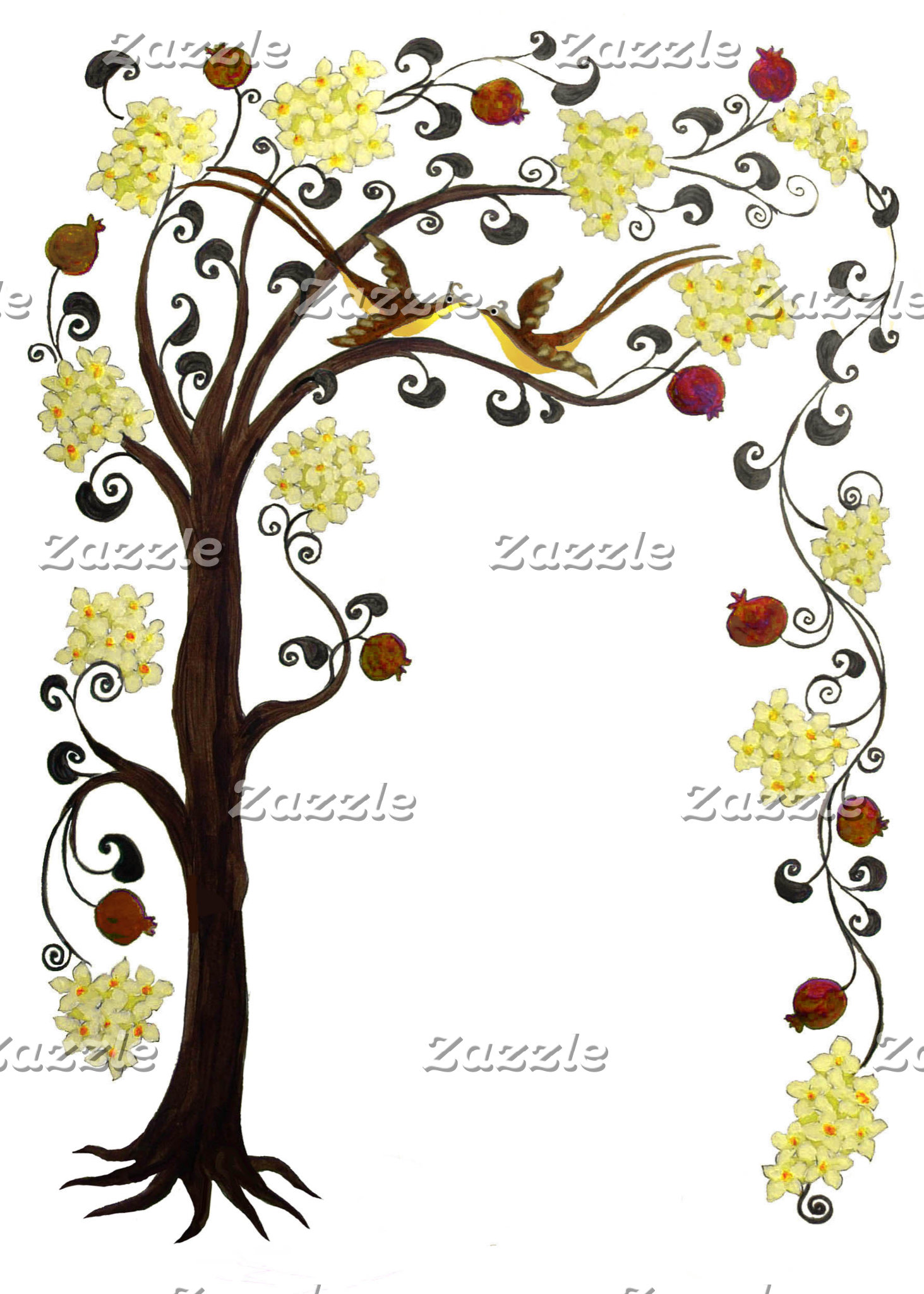 Tree of life, portrait