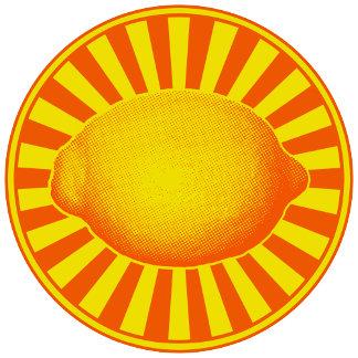➢ Bright Lemon Emblem in Yellow & Orange