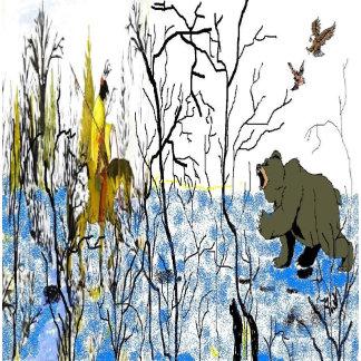 Winter Warrior and Bear