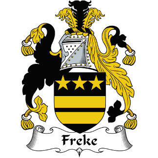 Freke Family Crest / Coat of Arms