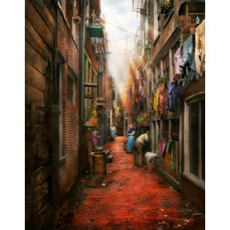 City - Germany - Alley - The other half 1904
