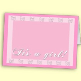 Customize a Baby Announcement Card
