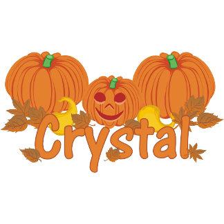 Pumpkin Crystal Personalized Halloween