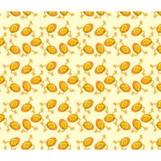 Running Easter eggs pattern