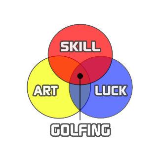 Golfing .. Skill Art Luck
