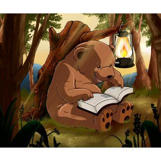 Cute Reading Bear