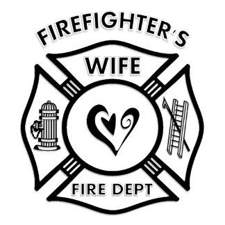 Firefighters Wife Maltese Heart